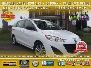 2012 Mazda MAZDA5 GS-$51/Wk-6Seater-AUX/USB/Mp3-Keyless-AlumWhls