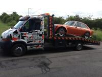VEHICLE RECOVERY COLLECTION DELIVERY SERVICE LOCAL AND NATIONAL SCRAP CARS UPLIFTED