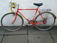 Vintage elswick road racing bike super12
