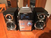 Panasonic SC-PM29 MP3 5-CD Changer Micro System(140W) with Remote