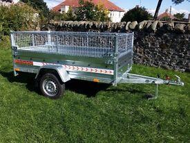 New car trailer 7.7 x 4.1 and mesh - £ 780 inc vat