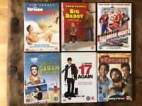 DVDs £2 each or £20 for all 12