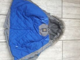 Boys winter coat 5-6 years