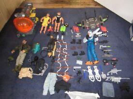 Action men & accessories