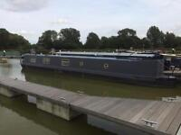 60 FT Narrowboat Home on Constant Cruising License.