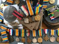 War medals WANTED