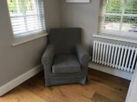 IKEA Jennylund Armchair in Dark Grey