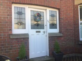 Original 1930's front door & sidelights