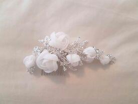 Bridal hair piece/hair slide