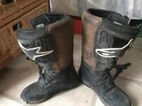 Alpine stars motocross boots