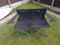 Eurohike Double folding camping chair