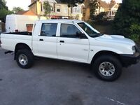 MITSUBISHI L200 GL 4WORK LWB 55 REG LOW MILEAGE
