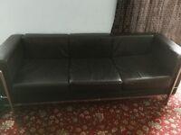 FREE Black 3 Seater Sofa/Chair