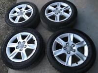 """VW Golf Alloy Wheels 16"""" 205 55 16 tyres, Audi Alloy Wheels 16"""""""