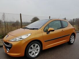 Peugeot 207 HDI turbo *orange*