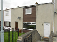 2 bed mid terraced house with garden. Part furnished, flooring and kitchen appliances.