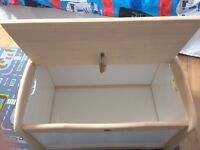Wooden Toy Box -excellent condition