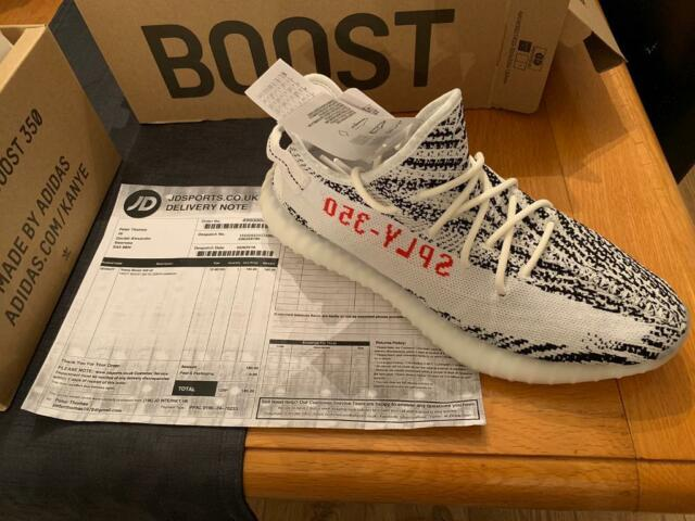 best service 643ae f2361 Adidas Yeezy Boost 350 V2 2018 Zebra SIZE UK 10 | in Swansea | Gumtree