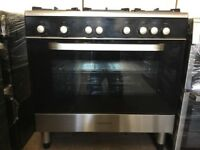 Kenwood all gas range cooker CK305G 90cm FSD Black 3 months warranty free local delivery!!!!!!