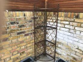 Vintage Pot and Plant Stand