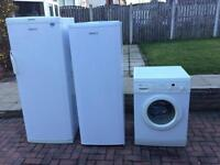 Beko larder fridge, beko larder freezer, Bosch washing machine Can deliver