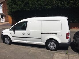 White Vauxhall caddy van very good condition with 12 months MOT and no VAT