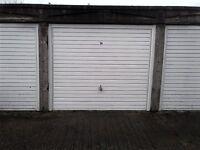 Single garage to let