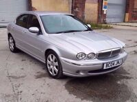 2004 JAGUAR X-TYPE SE AWD, 2.5 PETROL, AUTO, 4 DOORS SALOON, ONLY 85K, FULL LEATHER, FULL MOT!!!