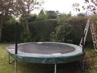Jumpking Trampoline £15.00 Altrincham Area Dismantled and Ready to Go