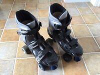 Roces quad roller skates : size 5