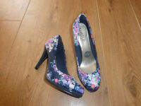Marks & Spencer Floral Stiletto Shoes