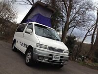 HI SPEC MAZDA BONGO 2.5 TD DAY MPV VAN/CAMPER /ONE OWNER/BRAND NEW MOT & COOLANT ALARM/CAMBELT KIT