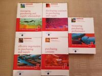 Full Set of Official CIPS Level 4 Textbooks - Excellent Condition