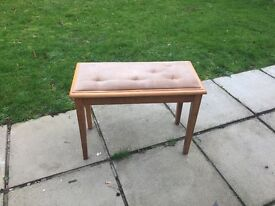 Stool With Storage/ Shabby Chic Project