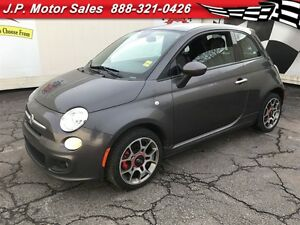 2015 Fiat 500 Sport, Automatic, Leather,