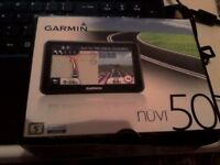 Garmin Nuvi 50 - navigator- brand new never used. Can be delivered within East London.