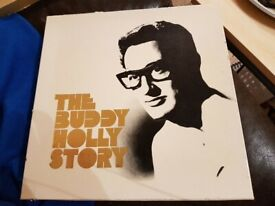 The Buddy Holly Story Box Set 5 LPs 1971