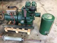 Lister 1.75kw diesel generator