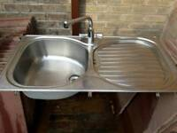 Franke kitchen sink and tap