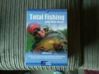Total fishing boxset by matt hayes 8 dvds