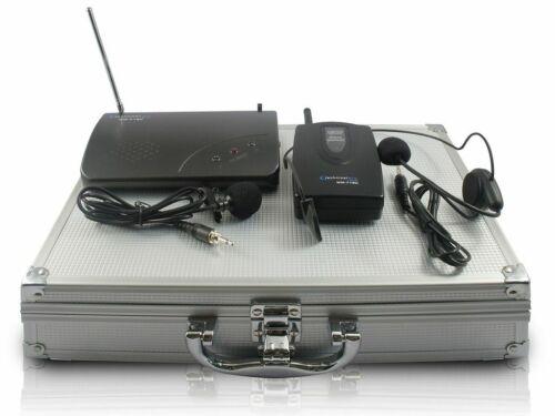 Technical Pro WM715 Single UHF Headset & Lapel Microphone System