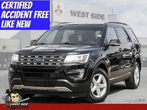 2016 Ford Explorer XLT-Accident Free-One Owner-$122/WEEK