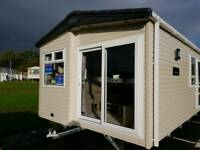 Brand new including 2018 site fees static caravan For Sale Ayrshire West Scotland