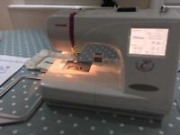 Janome embroidery machine 350e