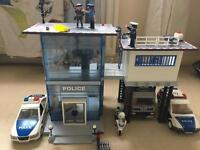Playmobil Police station and extra accessories