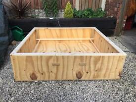 Large Wooden Puppy Whelping Box