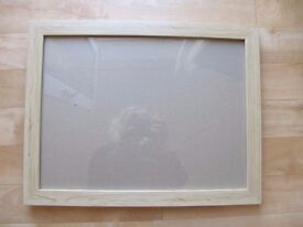Pine Effect Frames with Glass and Backs