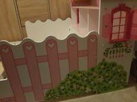 Kidkraft Dollhouse Toddler Bed for sale