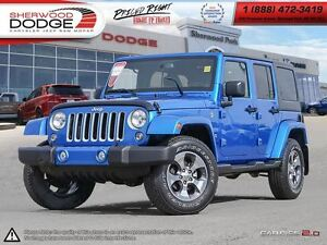 2016 Jeep WRANGLER UNLIMITED Sahara| LEATHER| NAV| BLUETOOTH
