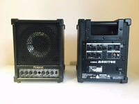ROLAND CM30 - Cube Monitors ( x2 - pair)